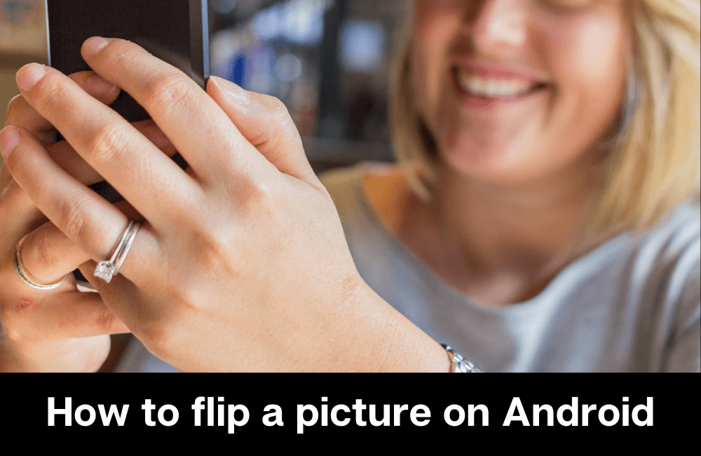 How to flip a picture on Android