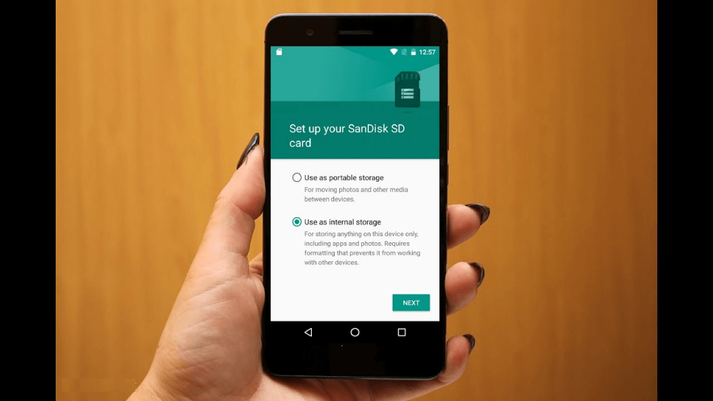 How to make your SD Card internal storage on Android devices