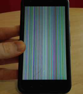 Vertical Lines on Android phone