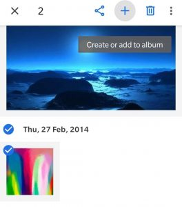 how to do side by side photos on android